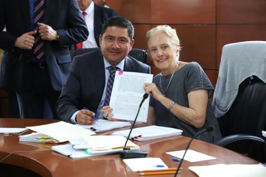 Firma de convenio específico UO13 con lo que se sustituye el programa PROSPERA en su componente de Salud.