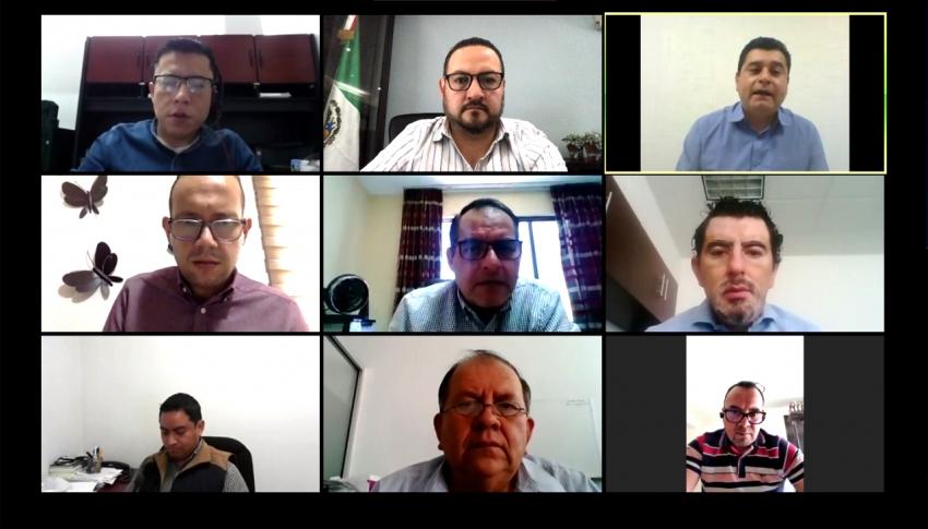 IEEH comparte con OPLE's de Querétaro y San Luis Potosí experiencia de APP para la obtención de apoyo ciudadano.