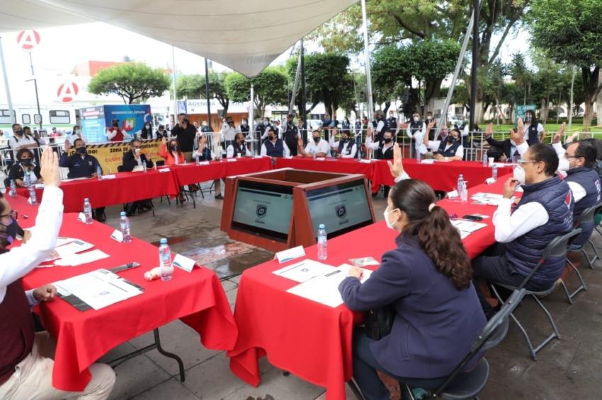 ENCABEZA SSH JORNADAS DE INTERVENCIÓN SANITARIA PARA MITIGAR EFECTOS DE LA PANDEMIA EN MUNICIPIOS CON ALERTA MÁXIMA EPIDEMIOLÓGICA