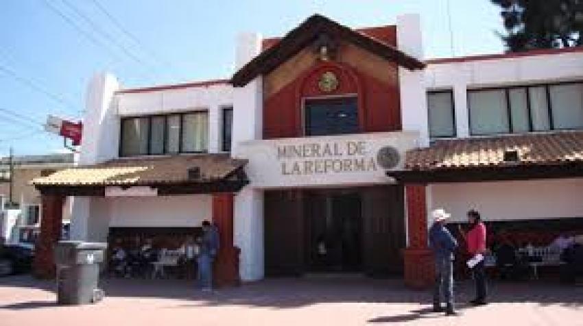 INVITA MINERAL DE LA REFORMA A LAS BODAS DEL CENTENARIO