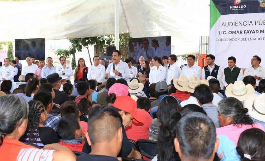 HIDALGO REPUNTA EN EL COMBATE A LA POBREZA: OMAR FAYAD
