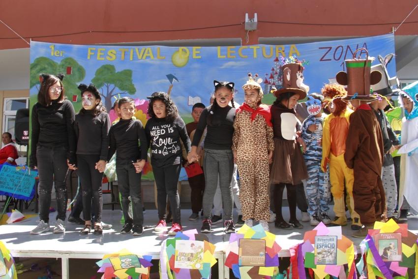 1ER. FESTIVAL DE LECTURA UN ESPACIO PARA FORTALECER LAS COMPETENCIAS COMUNICATIVAS