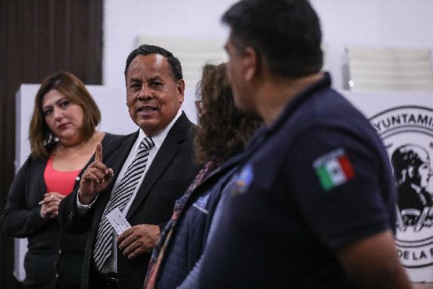 CAPACITA PC DE MINERAL DE LA REFORMA EN MATERIA DE PRIMER RESPONDIENTE A TRABAJADORES MUNICIPALES