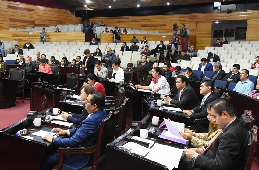 Junta de Gobierno de La LXIV Legislatura del Congreso del Estado de Hidalgo