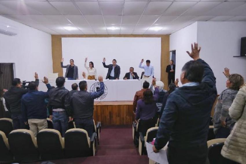 EXHORTAN A REGIDORES A PROMOVER EL PAGO PREDIAL 2019 EN MINERAL DE LA REFORMA