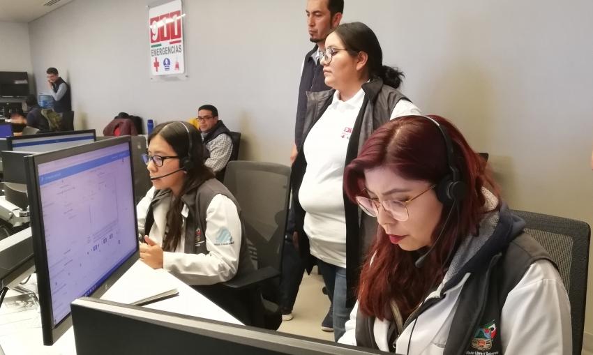 MÉDICOS DE SSH ATIENDEN 911, NÚMERO DE EMERGENCIA PARA ORIENTAR SOBRE POSIBLES CASOS SOSPECHOSOS DE COVID 19