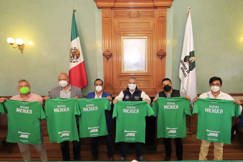 Municipio de Pachuca tendrá su equipo de futbol profesional