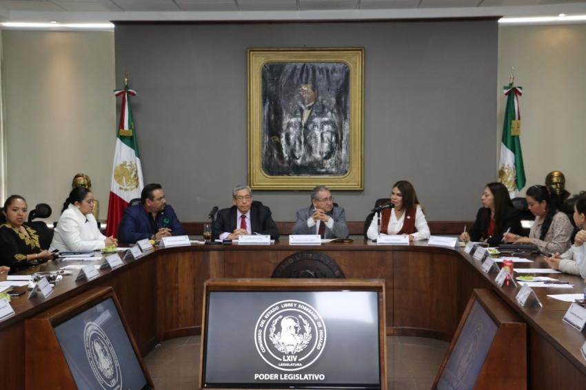 SECRETARÍA DE GOBIERNO Y CONGRESO DEL ESTADO ABORDAN TEMAS SEGURIDAD