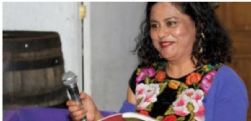 Se presentó el poemario Flor negra de Natalia Toledo, de manera virtual en el Congreso del Estado