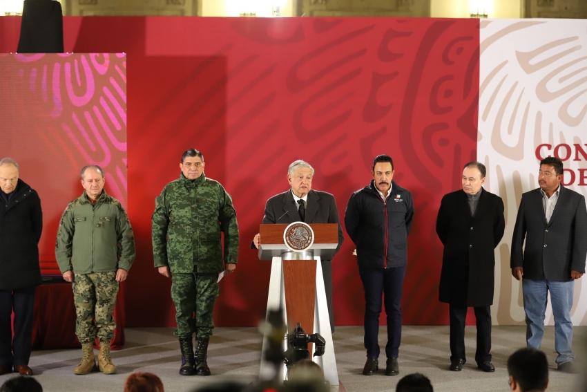 CONFERENCIA DE PRENSA PRESIDENTE ANDRÉS MANUEL LÓPEZ OBRADOR Y GOBERNADOR OMAR FAYAD