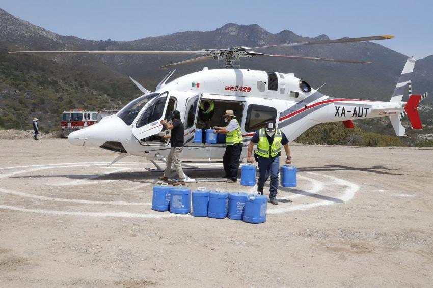 En relación al incendio intermunicipal de Cardonal, Nicolás Flores y Tlahuiltepa se informa: