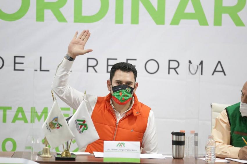 Apoyo a los comerciantes en Mineral de la Reforma