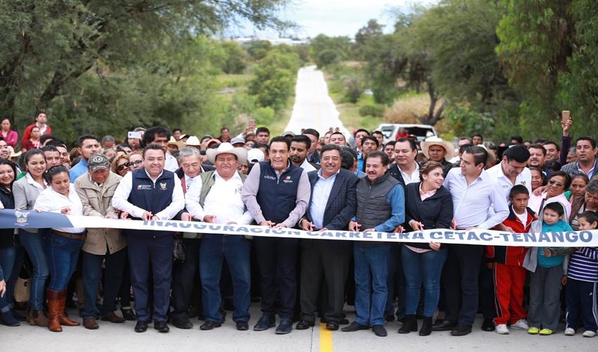 MILLONARIA INVERSIÓN PARA REGIÓN DE TEZONTEPEC DE ALDAMA