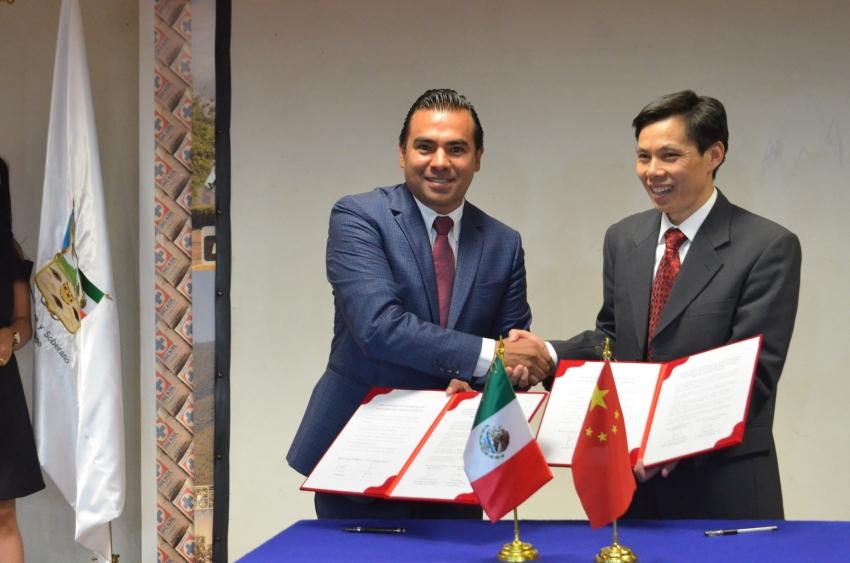 En Firma Tula y la ciudad China de Shaoxing, carta de intención para cooperación mutua