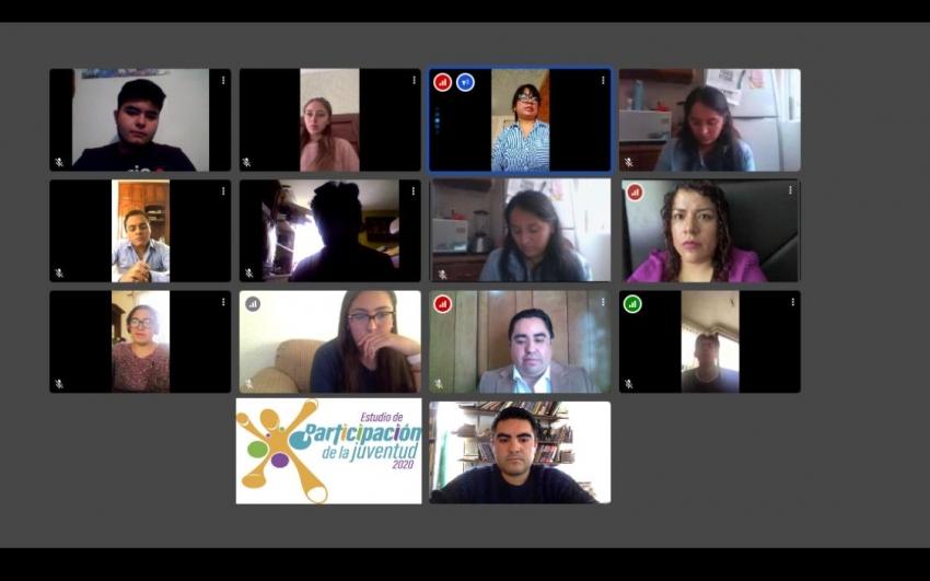 Concluye IEEH focus group con jóvenes hidalguenses