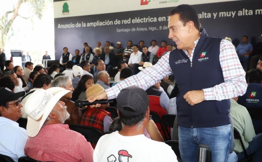 500 MDP PARA ELECTRIFICACIÓN DE ZONAS INDÍGENAS Y MARGINADAS